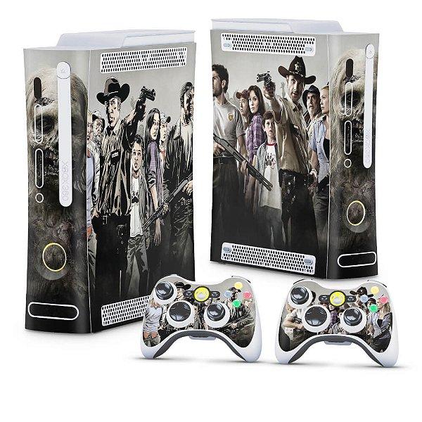 Xbox 360 Fat Skin - The Walking Dead #A