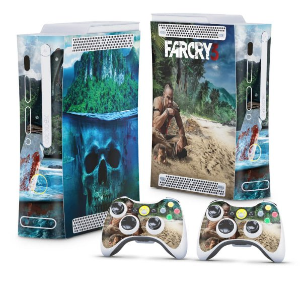 Xbox 360 Fat Skin - Far Cry 3