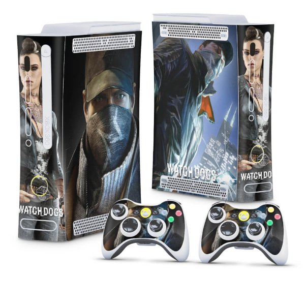 Xbox 360 Fat Skin - Watch Dogs
