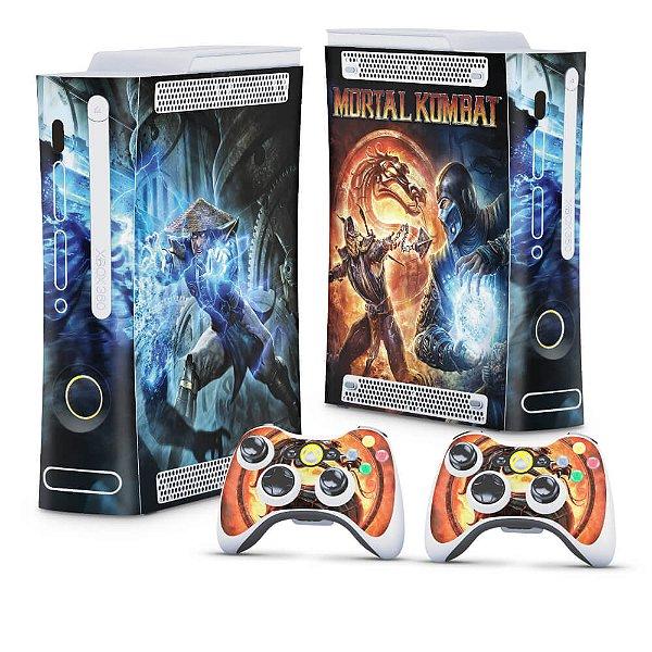 Xbox 360 Fat Skin - Mortal Kombat
