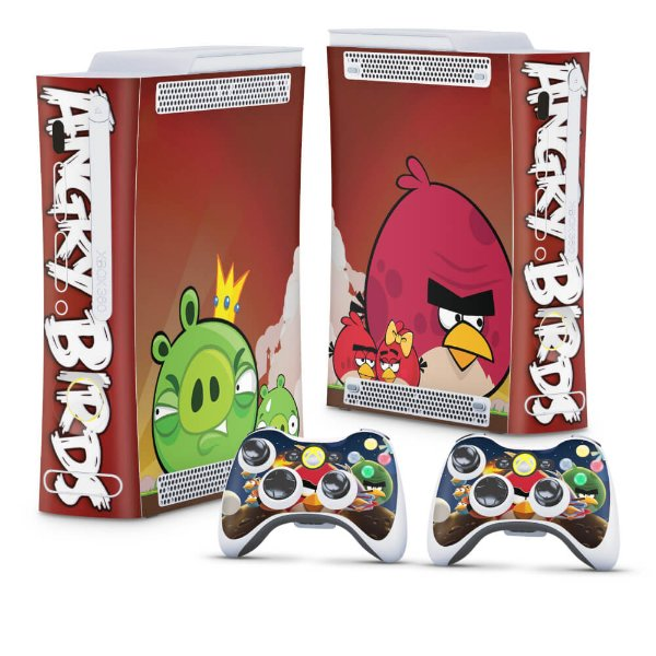 Xbox 360 Fat Skin - Angry Birds