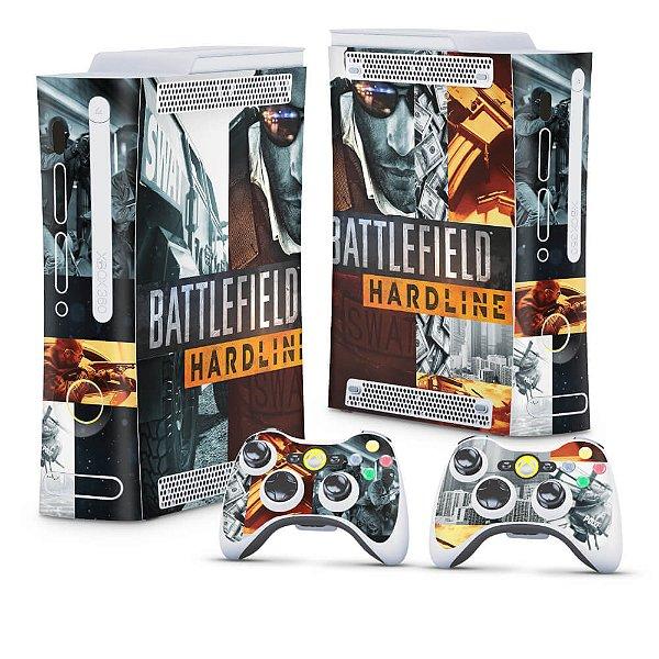 Xbox 360 Fat Skin - Battlefield Hardline