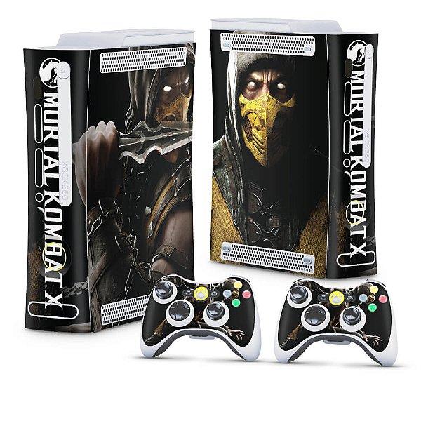 Xbox 360 Fat Skin - Mortal Kombat X Scorpion