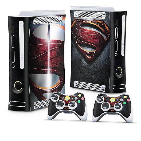 Xbox 360 Fat Skin - Superman - Man of Steel