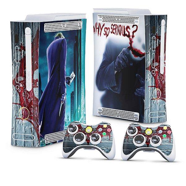 Xbox 360 Fat Skin - Coringa Joker #A