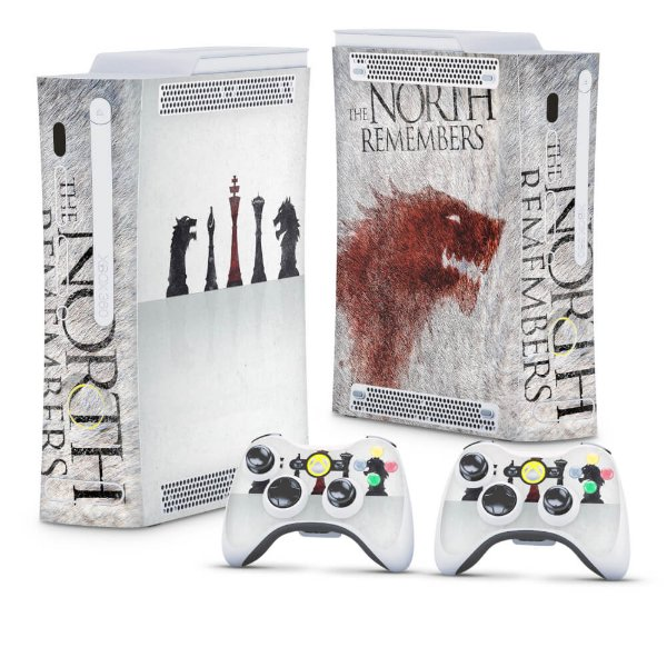 Xbox 360 Fat Skin - Game of Thrones #A