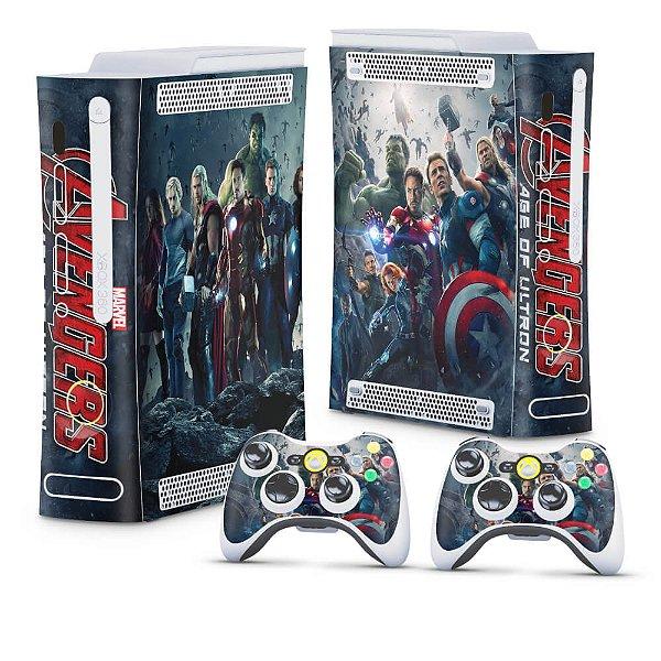 Xbox 360 Fat Skin - Vingadores 2: A Era de Ultron
