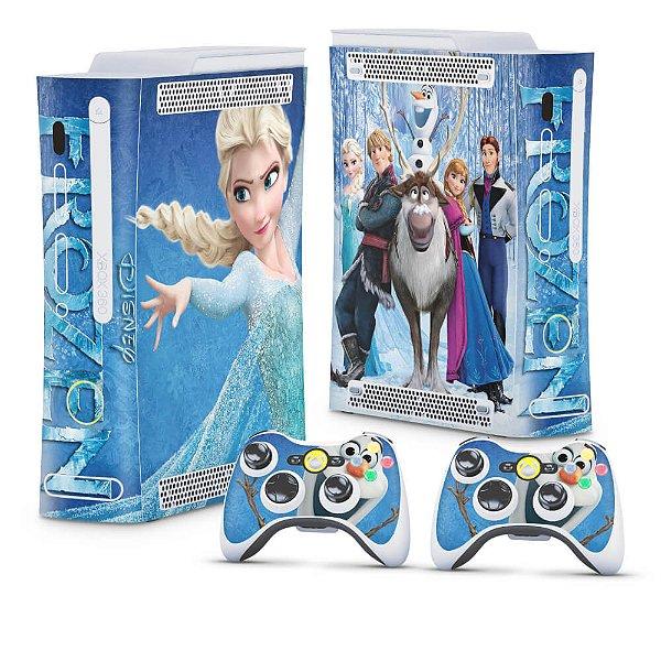 Xbox 360 Fat Skin - Frozen
