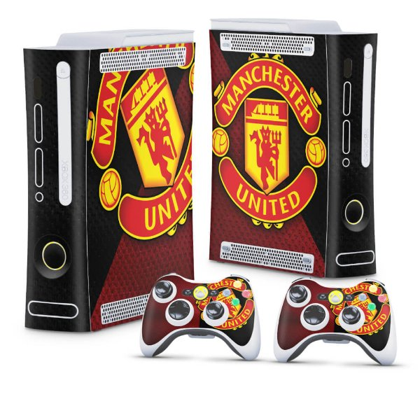 Xbox 360 Fat Skin - Manchester United