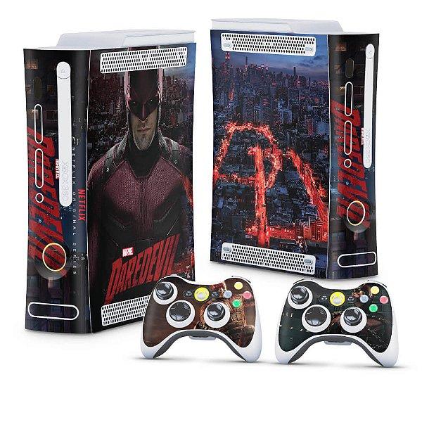 Xbox 360 Fat Skin - Daredevil Demolidor