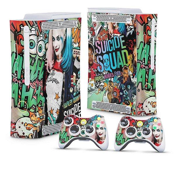 Xbox 360 Fat Skin - Esquadrão Suicida #A