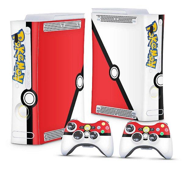 Xbox 360 Fat Skin - Pokemon Pokebola