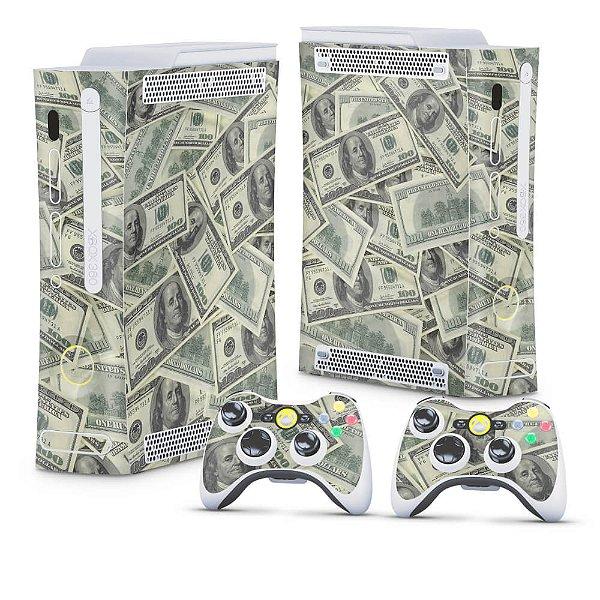 Xbox 360 Fat Skin - Dollar Money Dinheiro