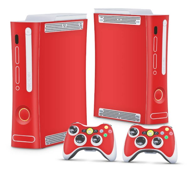 Xbox 360 Fat Skin - Vermelho