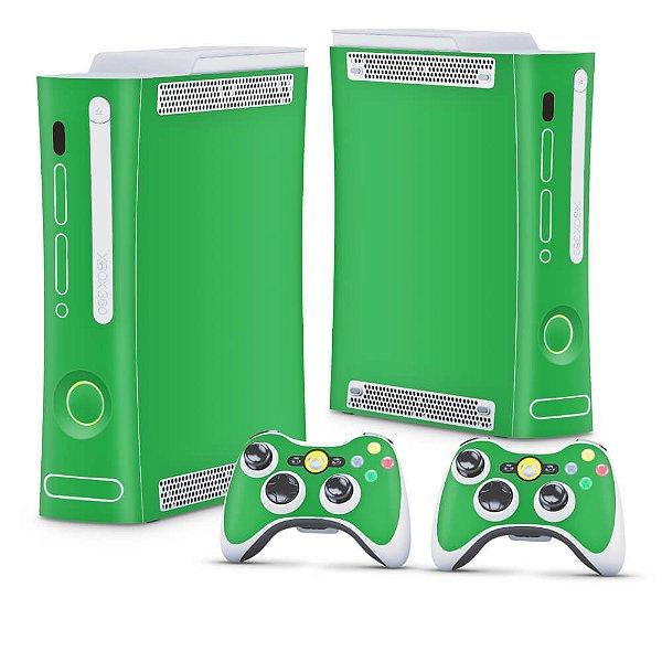 Xbox 360 Fat Skin - Verde