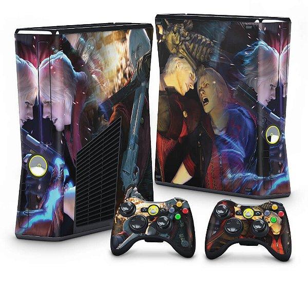 Xbox 360 Slim Skin - Devil May Cry 4