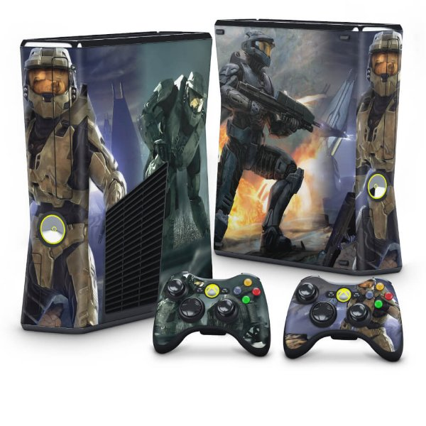 Xbox 360 Slim Skin - Halo 3