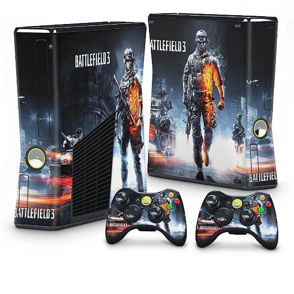 Xbox 360 Slim Skin - Battlefield 3