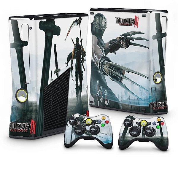 Xbox 360 Slim Skin - Ninja Gaiden 3