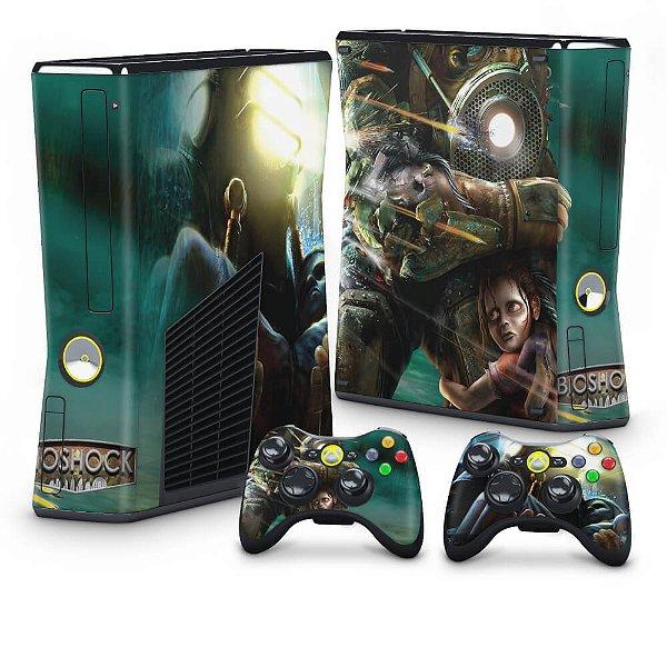 Xbox 360 Slim Skin - Bioshock