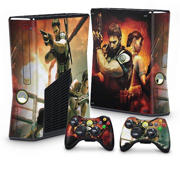 Xbox 360 Slim Skin - Resident Evil 5
