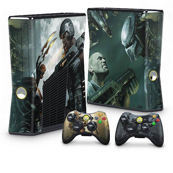 Xbox 360 Slim Skin - Aliens vs Predators