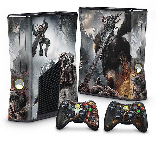 Xbox 360 Slim Skin - Darksiders Wrath of War