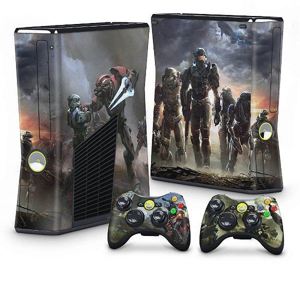 Xbox 360 Slim Skin - Halo Reach