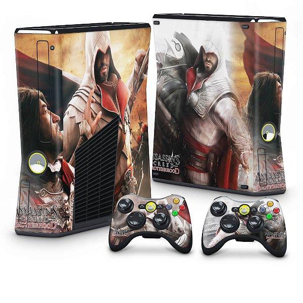 Xbox 360 Slim Skin - Assassins Creed Brotherwood #B