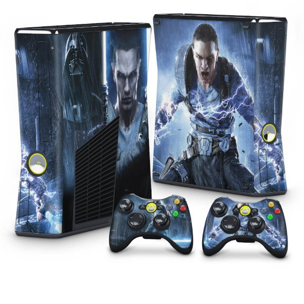Xbox 360 Slim Skin - Star Wars The Force Unleashed 2