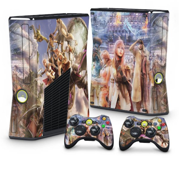 Xbox 360 Slim Skin - Final Fantasy XIII #B