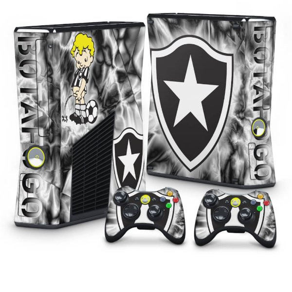 Xbox 360 Slim Skin - Botafogo