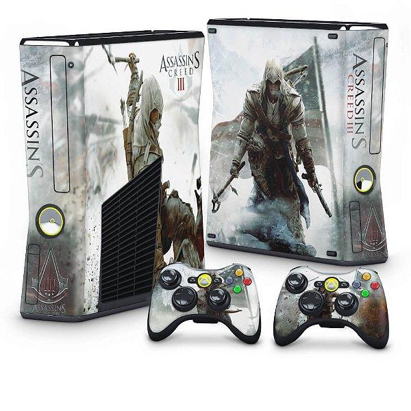 Xbox 360 Slim Skin - Assassins Creed 3