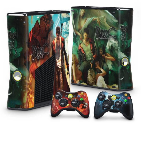 Xbox 360 Slim Skin - Devil May Cry 5