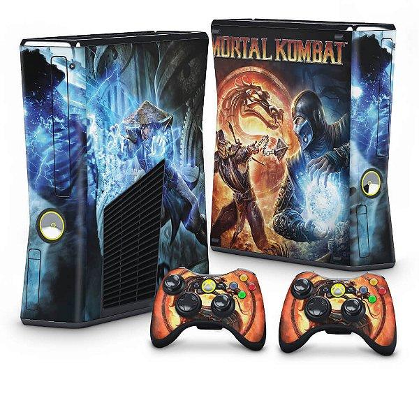 Xbox 360 Slim Skin - Mortal Kombat