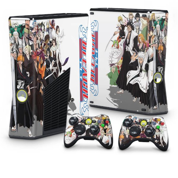 Xbox 360 Slim Skin - Bleach