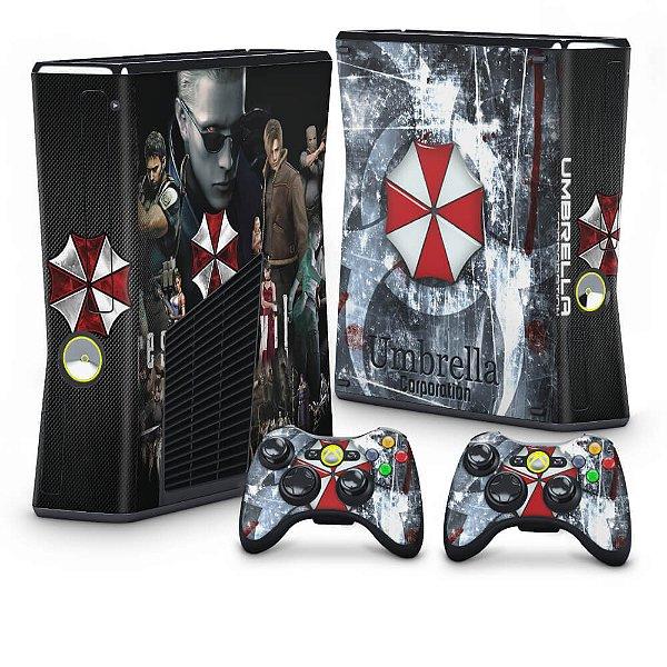 Xbox 360 Slim Skin - Resident Evil - Umbrella