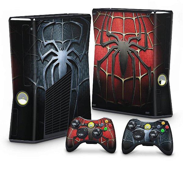 Xbox 360 Slim Skin - Spiderman Homem-Aranha #A