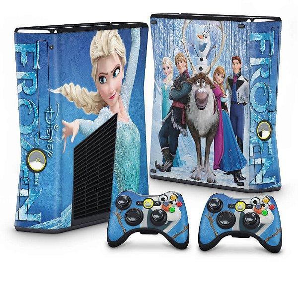 Xbox 360 Slim Skin - Frozen