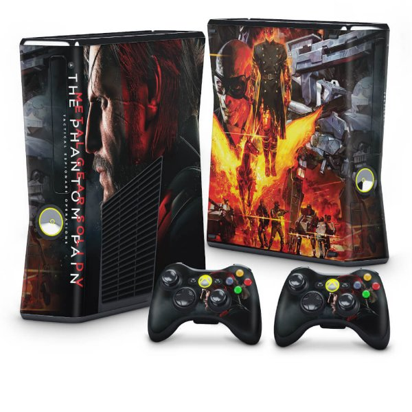 Xbox 360 Slim Skin - Metal Gear Solid 5: The Phantom Pain