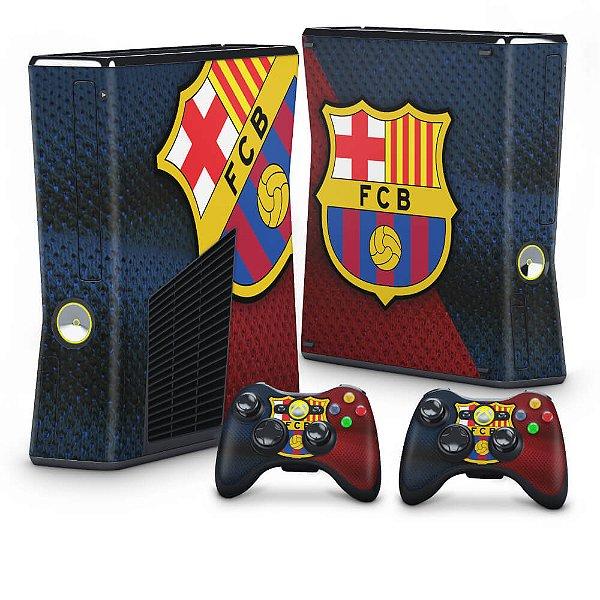 Xbox 360 Slim Skin - Barcelona