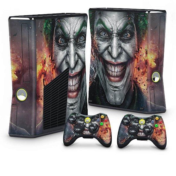 Xbox 360 Slim Skin - Coringa Joker #B