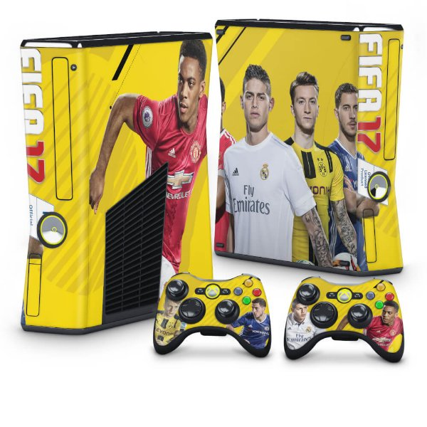 Xbox 360 Slim Skin - FIFA 17