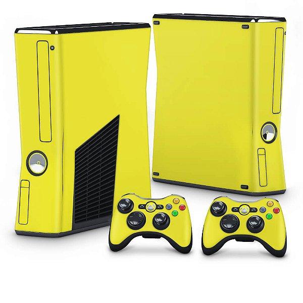 Xbox 360 Slim Skin - Amarelo