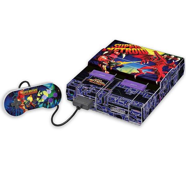 Super Nintendo Skin - Super Metroid
