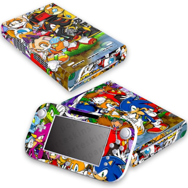 Nintendo Wii U Skin - Sonic