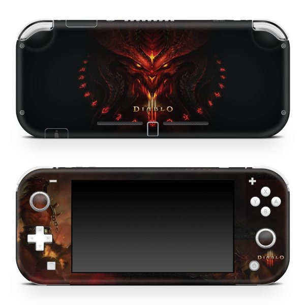 Nintendo Switch Lite Skin - Diablo Iii