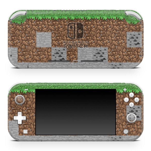 Nintendo Switch Lite Skin - Minecraft