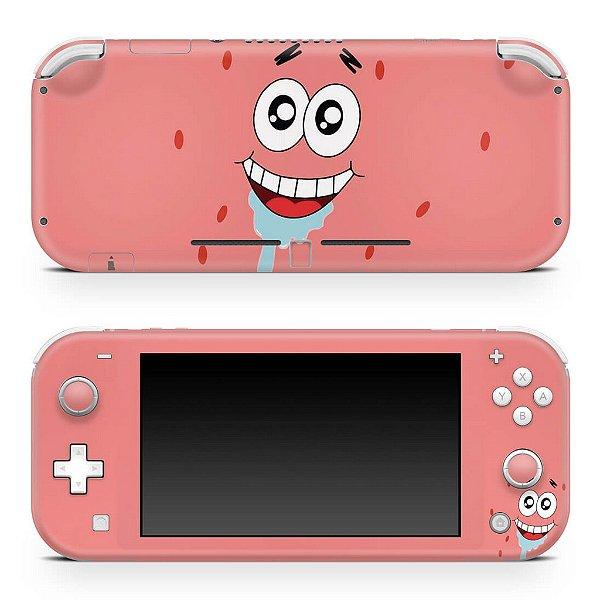 Nintendo Switch Lite Skin - Patrick Bob Esponja