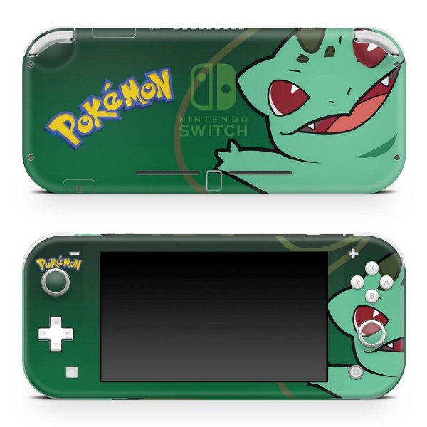 Nintendo Switch Lite Skin - Pokémon Bulbasaur